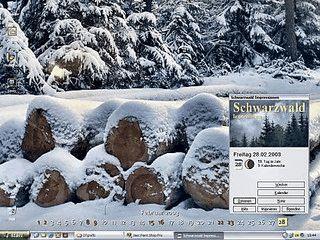 Desktopkalender und Bildschirmschoner mit Schwarzwaldmotiven