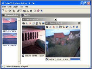 Kostenlose Webcam Software mit vielen Features, z.B. Live Streaming.