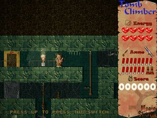 TombClimber ist ein Labyrinth Jump and Run Spiel.