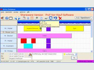 Zeitplanung und Ressourcemanagement