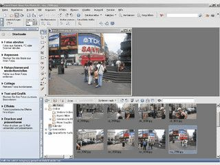 Ausgezeichnetes Grafikprogramm f�r die Bildbearbeitung.
