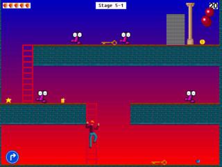 Witziges Plattformspiel mit Superheld Marty in der verrückten Welt Byteria.