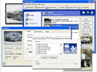 Bildschirmschoner aus Ihren Videos und Bildern mit Musikuntermalung