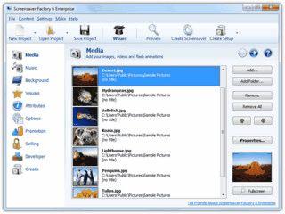 Bildschirmschoner erstellen die als Shareware vertrieben werden können.