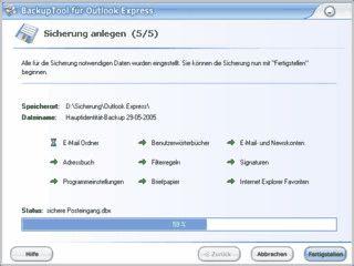 Sichert einfach und schnell alle wichtigen Outlook Express Daten