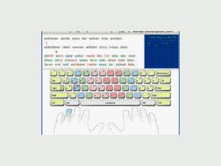 Der 10-Finger-System Schreibtrainer für Maschinenschreiben.