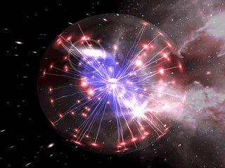 Eine rotierende 3D Plasma-Kugel