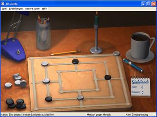Gute Umsetzung des beliebten Mühlespieles mit vielen verschiedenen Spielmodi