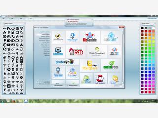 Software zum Erstellen von Logos für beliebige Zwecke.