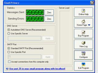 Eigener SMTP Server zum Schutz Ihrer privaten eMails.