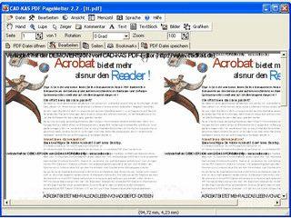 PDF Dateien mit 4 Seiten je Seite abspeichern.