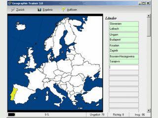 Erweitern Sie Ihre Geographie-Kenntnisse mit Geographie Trainer !