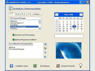 Programm zur Automatisierung von Windows Installationen.