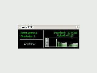 Einfach zu installierender FTP Server.