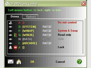 Verstecken Sie Laufwerke wie CD, DVD, Floppy und CompactFlash