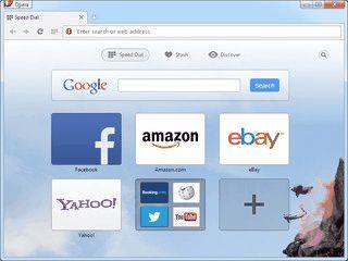 Die kleine und schnelle Browser Alternative.