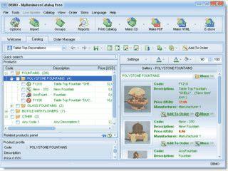 Software zur Erstellung und Verteilung von elektronischen Katalogen