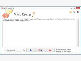 Lassen Sie sich Dokumente, E-Mails und Webseiten vorlesen