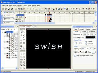 Umfangreiches Werkzeug zur Erstellung von Flash-Animationen