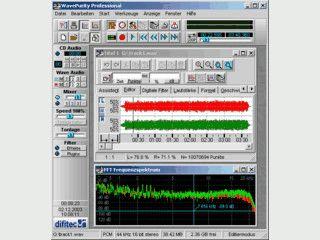 Audio-Restauration alter Schallplatten und Tonbänder