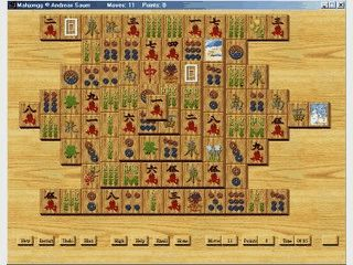 Mahjongg Spiel.
