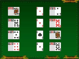 Gute Palm OS Umsetzung des Kartenspiels für eine Person.