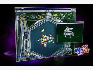 Dieses Spiel erinnert an Tetris.