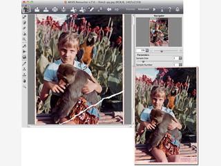 Bildbearbeitungs-Plugin zur Restaurierung von Bildern die Kratzer enthalten.