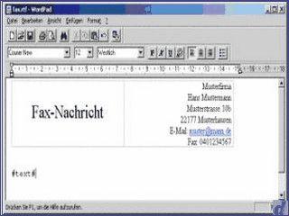 Email-to-Fax Gateway für MS Outlook Netzwerke und AVM FRITZ!