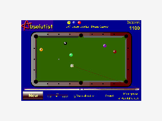Einfache Pool Billiard Version als FlashGame