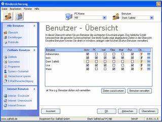 Zeit- und Internetkontrolle für den PC. Webfilter und Anwendungen einschränken