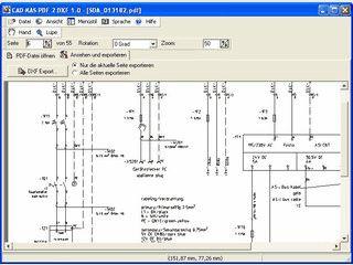 In PDF Dateien enthaltene Bitmaps als DXF Datei abspeichern.