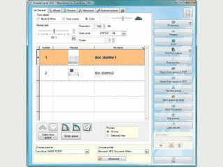 Scanner und Drucker werden zum Kopierer. PDF-Speicherung, Fax-Versand.