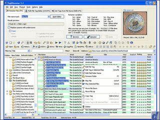 Automatische Umbenennung von MP3 und VQF Dateien mit CDDB Unterstützung